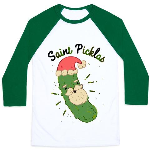 Saint Picklas Baseball Tee