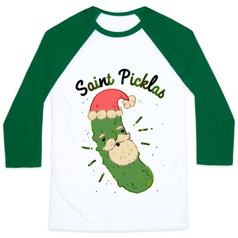 Saint Picklas Baseball Tee