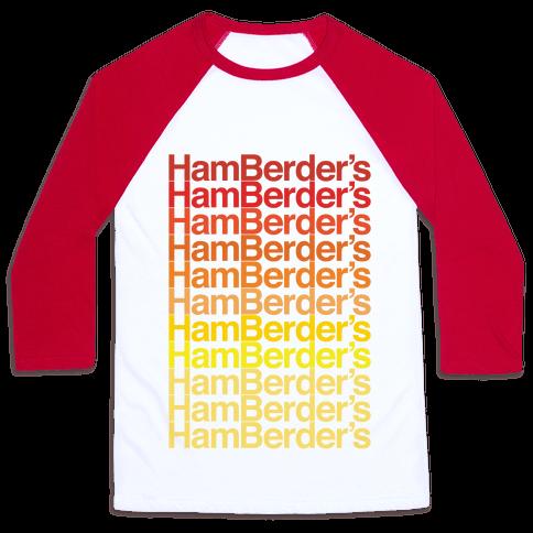 Hamberder's Parody Baseball Tee