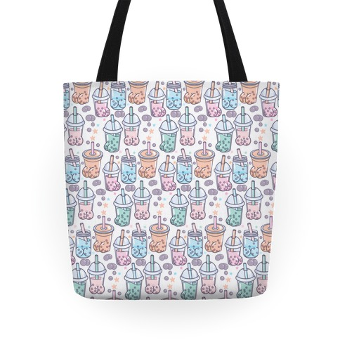 Boba Butts Pattern Tote