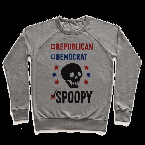 Republican Democrat SPOOPY Pullover