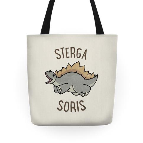 Derpy Stegosaurus Animal Tote