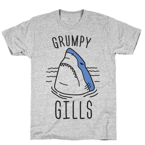 Grumpy Gills Shark T-Shirt