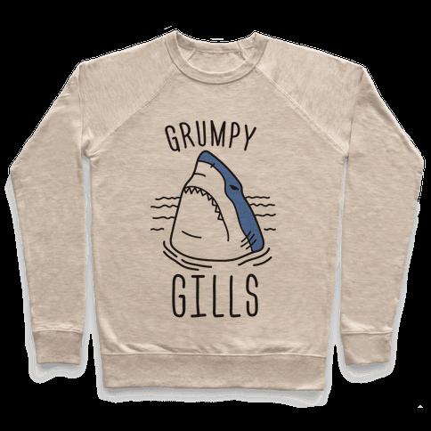 Grumpy Gills Shark Pullover