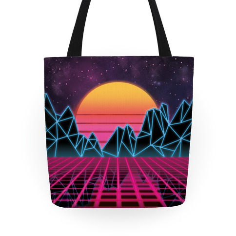 Synthwave Tote