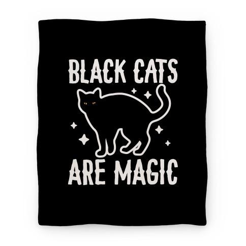Black Cats Are Magic Blanket