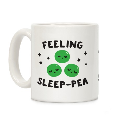 Feeling Sleep-pea Coffee Mug