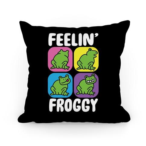 Feelin' Froggy Pillow