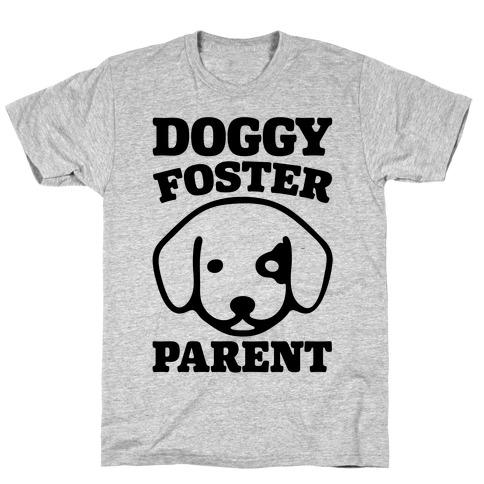 Doggy Foster Parent Mens/Unisex T-Shirt