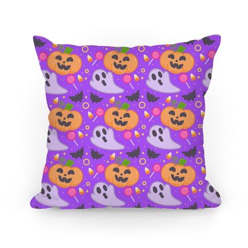 Halloween Fun Pattern Pillow