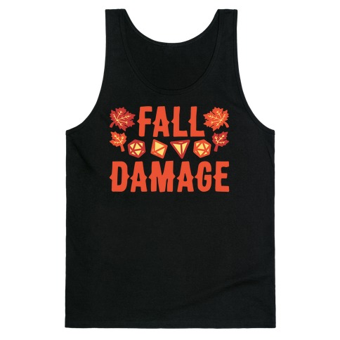 Fall Damage Tank Top