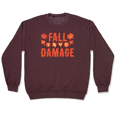 Fall Damage Pullover
