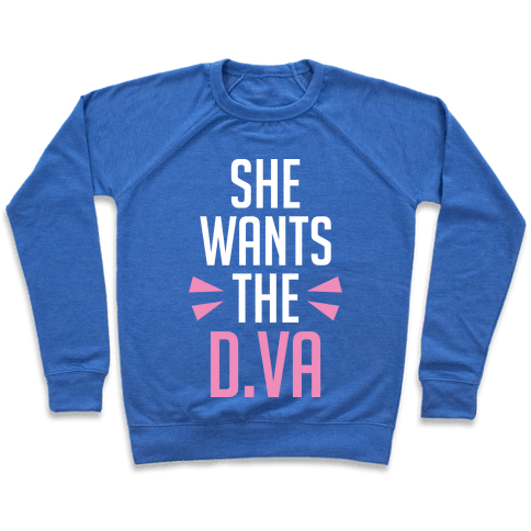 She Wants The D.Va Overwatch Parody Pullover