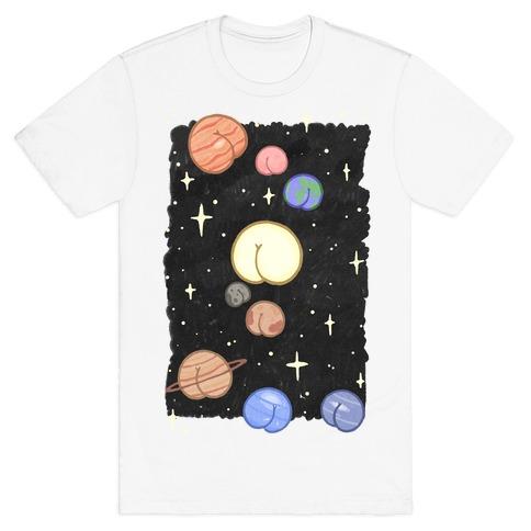 Butt Planets T-Shirt