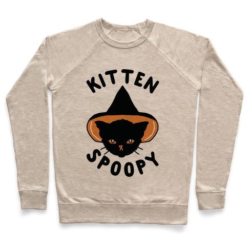 Kitten Spoopy Pullover