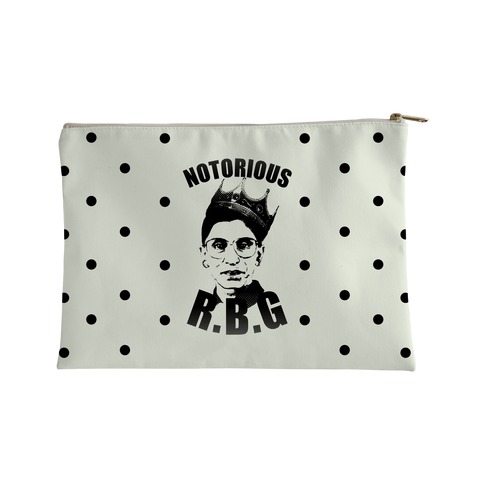 Notorious RBG (Ruth Bader Ginsburg) Accessory Bag