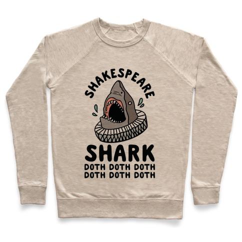 Shakespeare Shark Doth Doth Doth Pullover