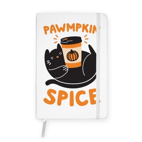 Pawmpkin Spice Notebook