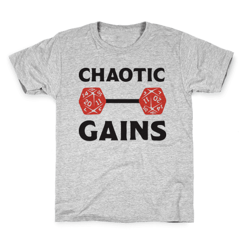 Chaotic Gains Kids T-Shirt