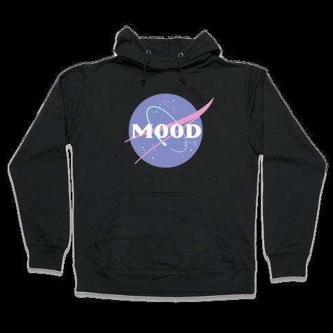 MOOD NASA Parody Hooded Sweatshirt