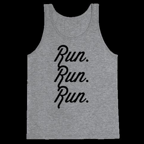 Run Run Run Tank Top