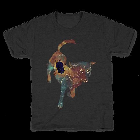 Astronaut Dog Chernushka Kids T-Shirt