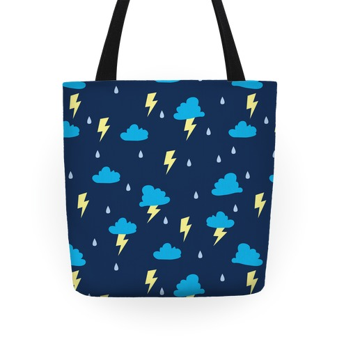 Thunderstorm Pattern Tote