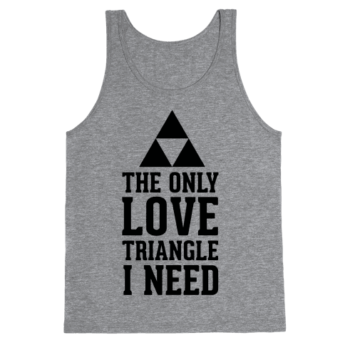 The Only Love Triangle I Need Tank Top