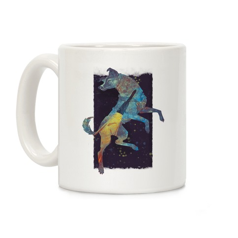 Astronaut Dog Laika Coffee Mug