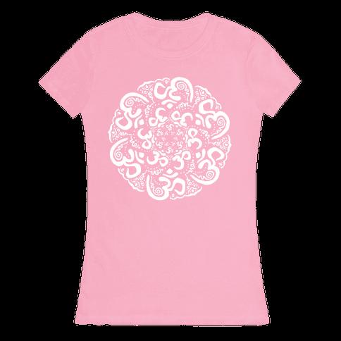 Namaste Mandala Womens T-Shirt