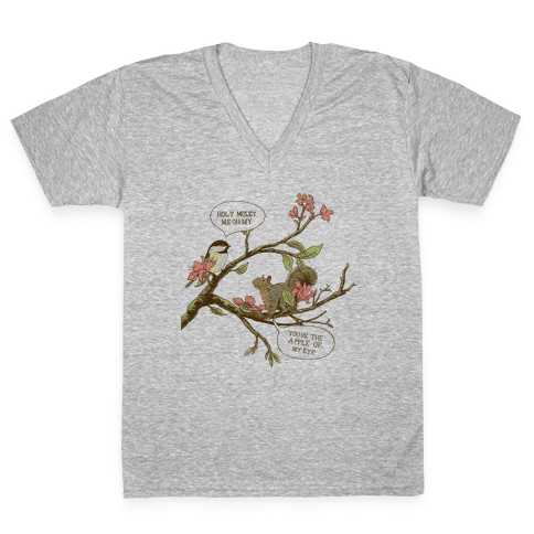 Ahh, Home V-Neck Tee Shirt