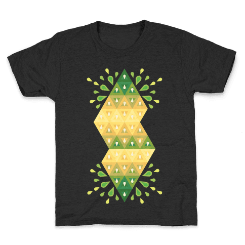 Abstract Summer Seed Garden Kids T-Shirt