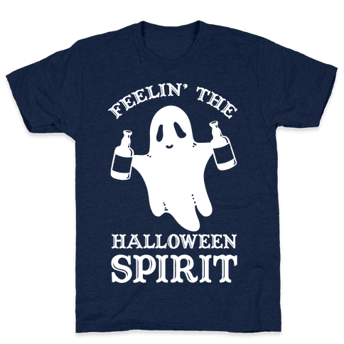 Feelin' the Halloween Spirit Mens T-Shirt
