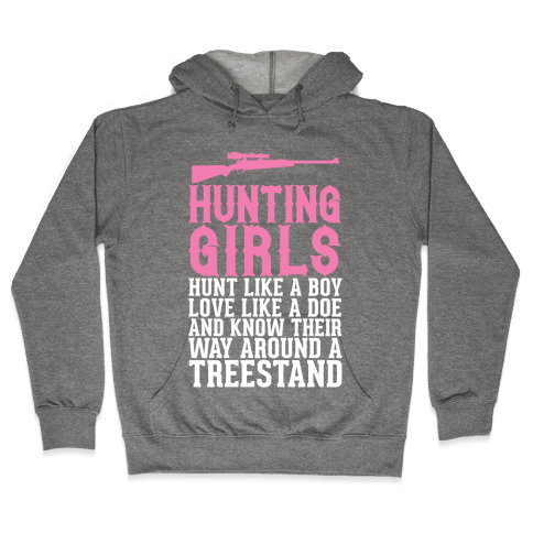 Hunting Girls Hooded Sweatshirt