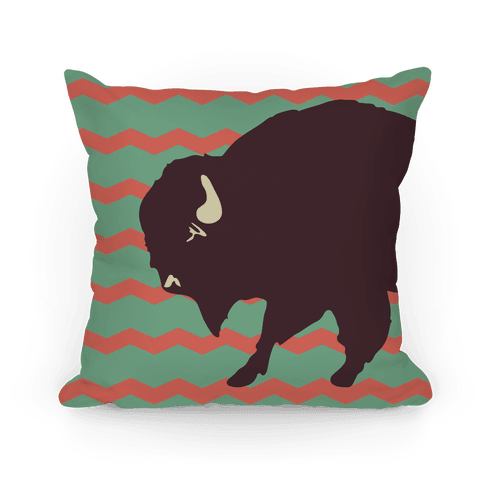 Big Buffalo Pillow