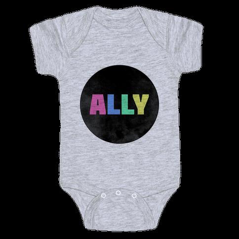 Proud Ally Baby Onesy