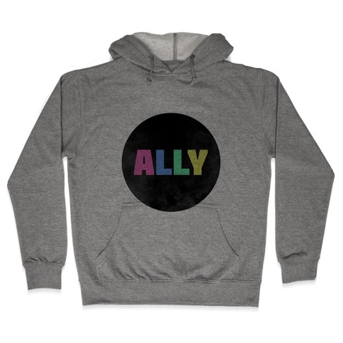 Proud Ally Hooded Sweatshirt
