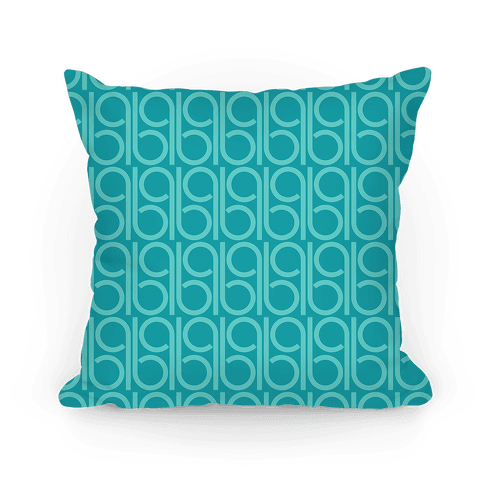 Teal Retro Pattern