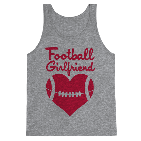 Football Girlfriend Tank Top