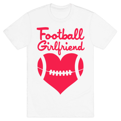Football Girlfriend Mens T-Shirt