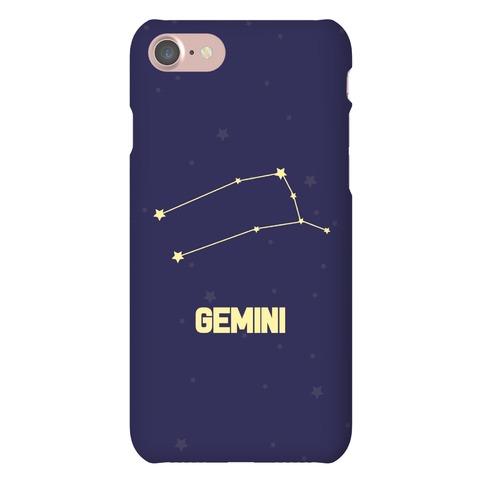 Gemini Horoscope Sign Phone Case