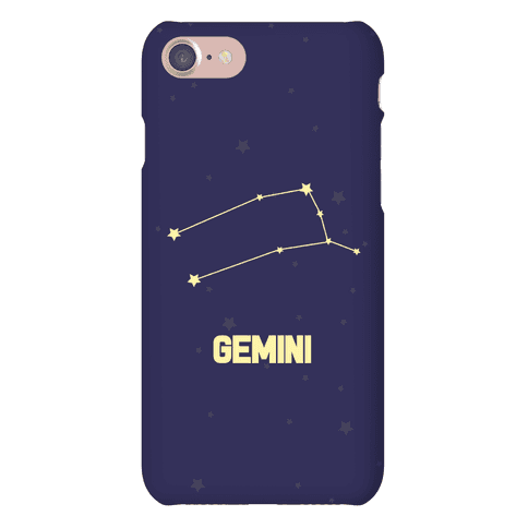 Gemini Horoscope Sign Phone Case