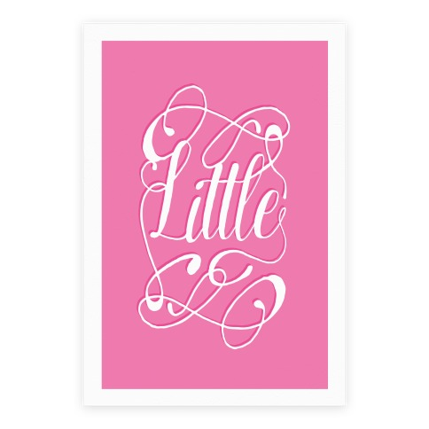 Little Monogram Poster