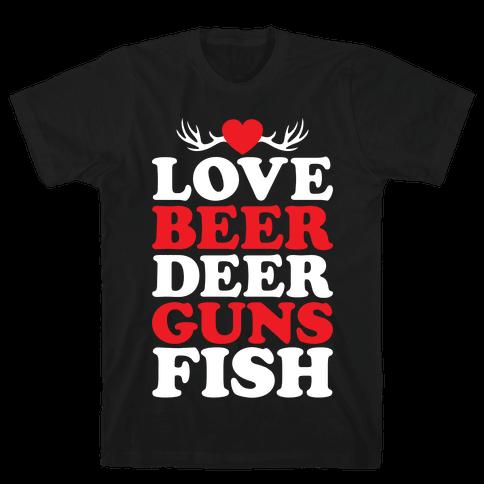My Favorite Four-Letter Words Mens T-Shirt