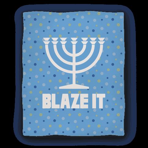 Blaze It Menorah