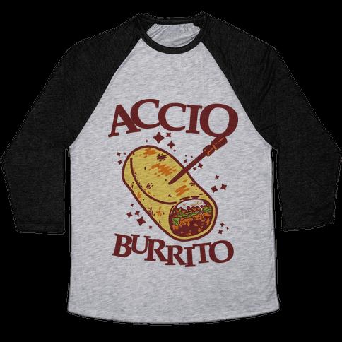 Accio Burrito Baseball Tee
