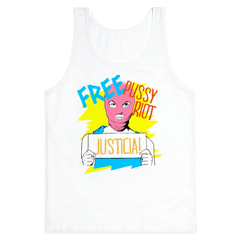 Free Pussy RIot Tank Top