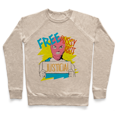 Free Pussy RIot Pullover