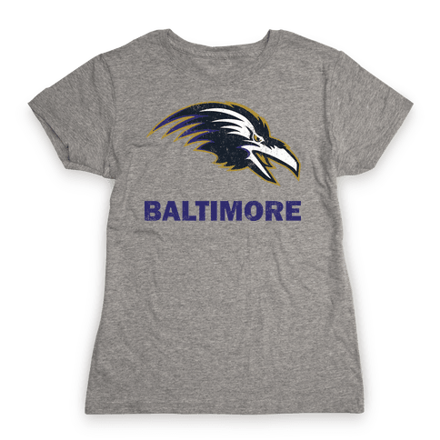 Baltimore (Vintage) Womens T-Shirt