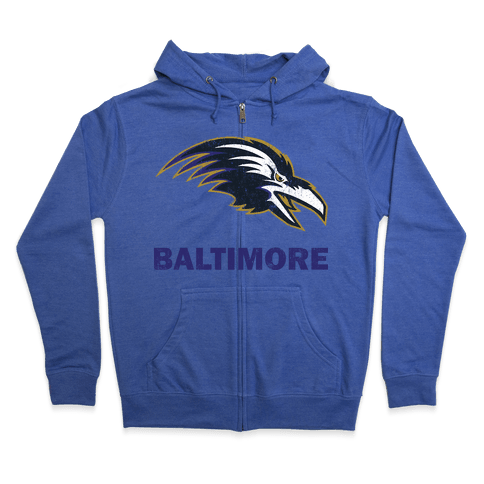 Baltimore (Vintage) Zip Hoodie